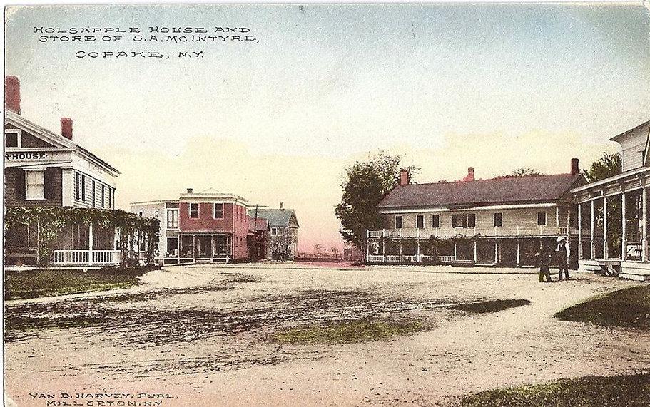 Holsapple House and Store of SA MCIntyre