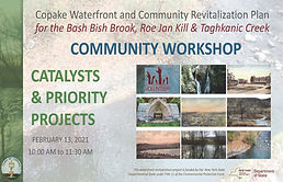 first page Copake Waterfront & Community