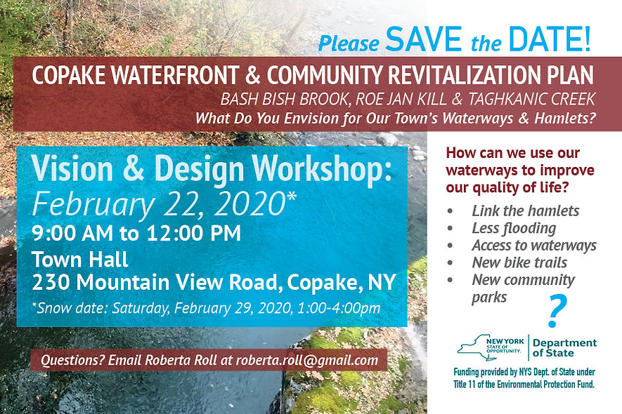 Copake Save Date 1-23-20 for email blast