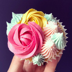 Piped Cupcakes