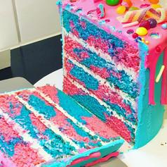 Cake guts!