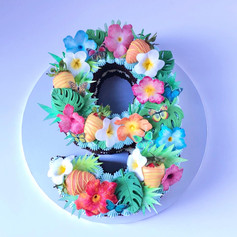 Tropical Number Cake