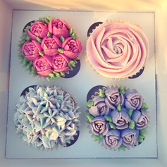 Floral Cupcakes
