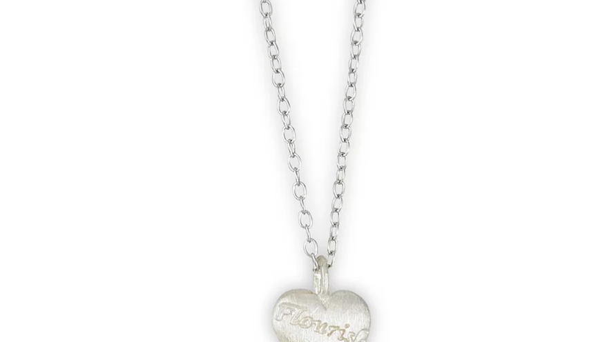 Flourish Heart Necklace
