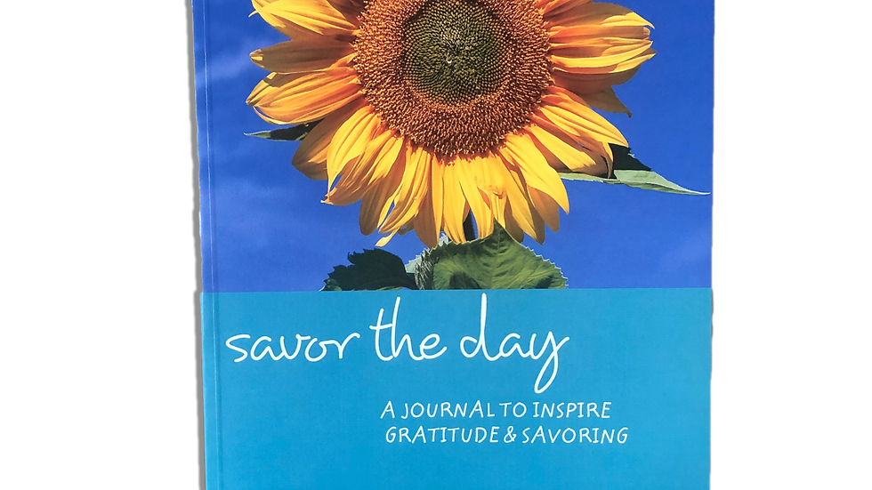 Savor the Day Gratitude Journal