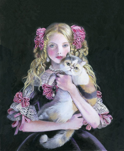 L'infanta Margherita con il gatto Pepito