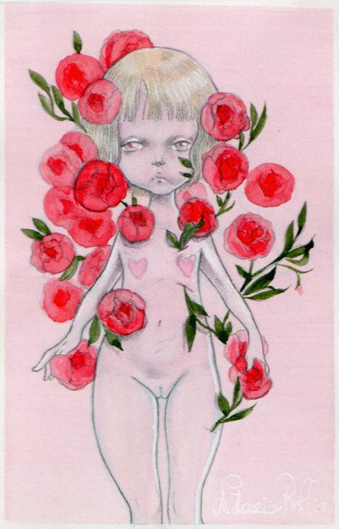 Disegno con le rose
