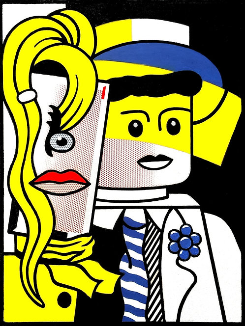 Stepping out da Roy Lichtenstein