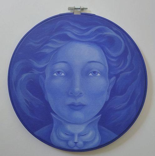 Blue Pouplette