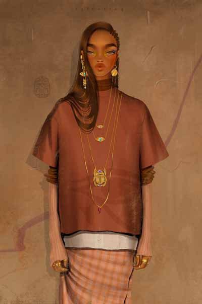 Nefertiti (giclèe print)