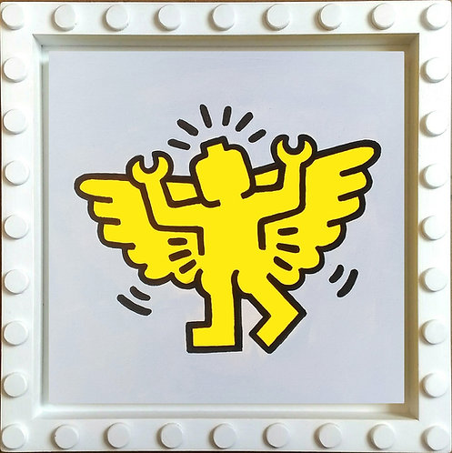 Angel - tributo a Keith Haring