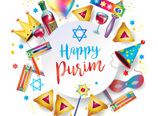 Wishing you a Happy Purim.