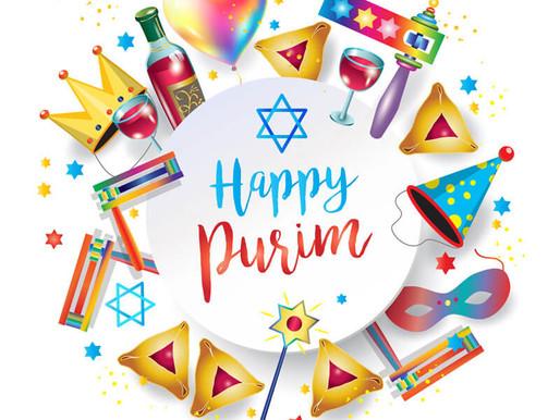 Wishing you a Happy Purim.