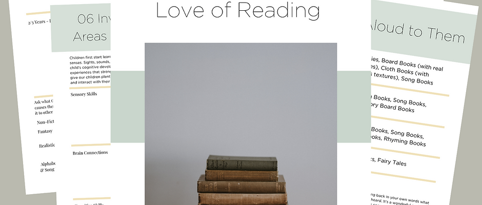 Tools to Ignite a Love of Reading
