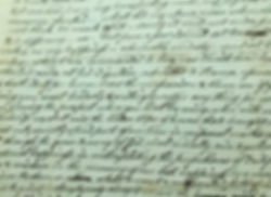 Love letters from Dr. Samuel Kenedy, psychic Barbara Mackey's ancestor
