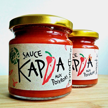 Sauce Kapia piquante aux poivrons
