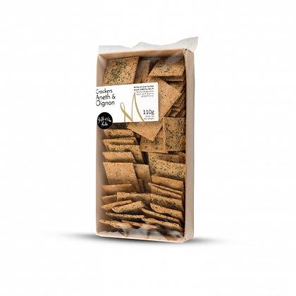 Crackers à l'Aneth et Oignon
