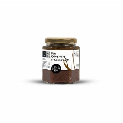 Pâte d'olives noires de Kalamata Biologique