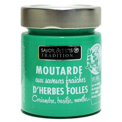 Moutarde aux saveurs d'herbes folles