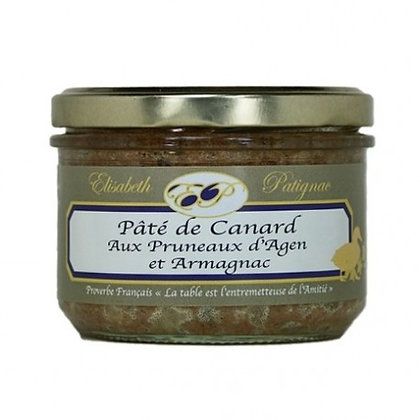 Pâté de Canard Aux Pruneaux d'Agen et Armagnac