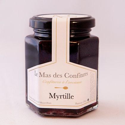 Confiture myrtilles sauvage