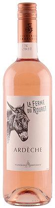 La Ferme du Rouret Rosé 2018 – Vignerons ardéchois – Ardèche – France – 75cl