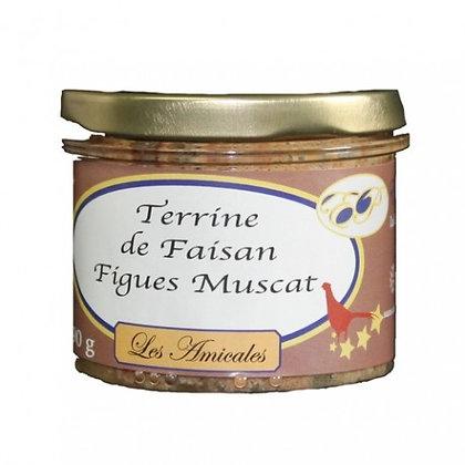 Terrine de faisan aux figues et au muscat