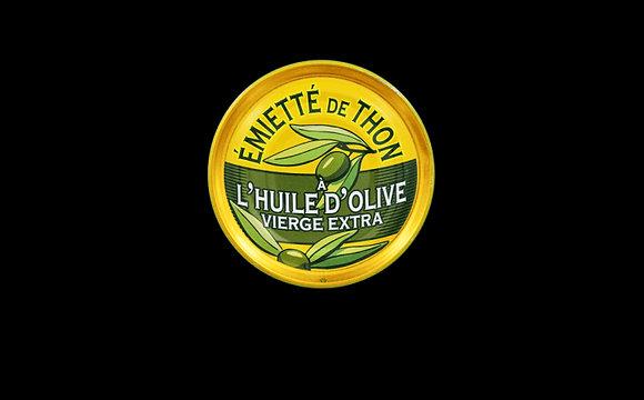 Émietté de thon à l'huile d'olive