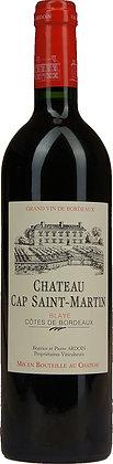 Château Cap Saint Martin 2016 – Ardoin – Côtes de Bordeaux – France – 75cl