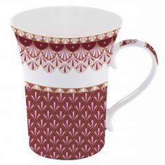 Mug porcelaine -  bte cadeau  'ATMOSPHERE', 360ml