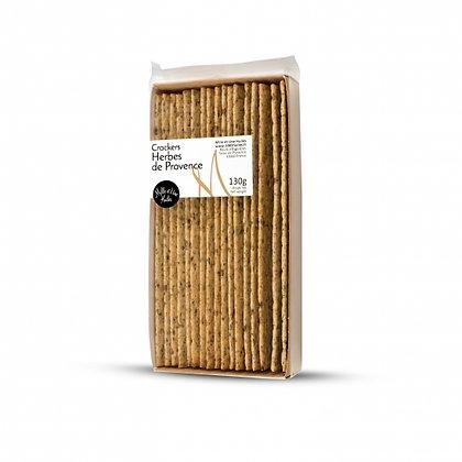 Crackers aux herbes de Provence