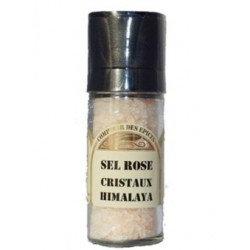 Sel rose - Cristaux Himalaya en moulin