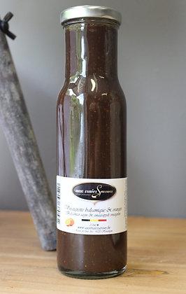 Vinaigrette balsamique et orange