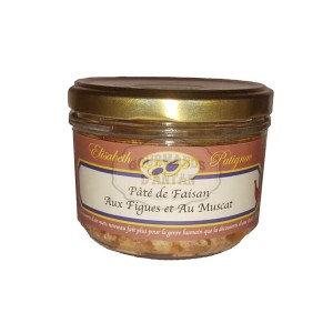 Pâté de faisan aux figues et au muscat