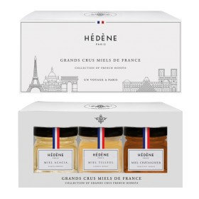 COFFRET GRANDS CRUS MIELS DE FRANCE