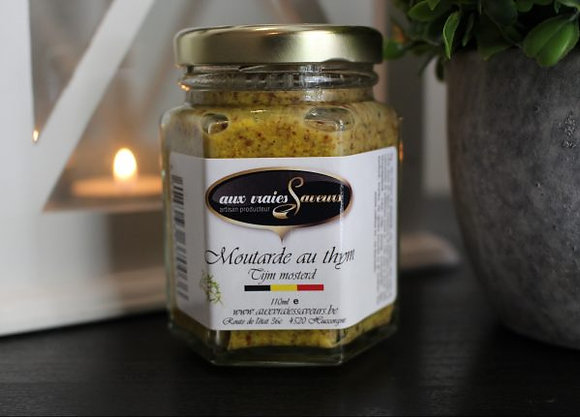 Moutarde au thym
