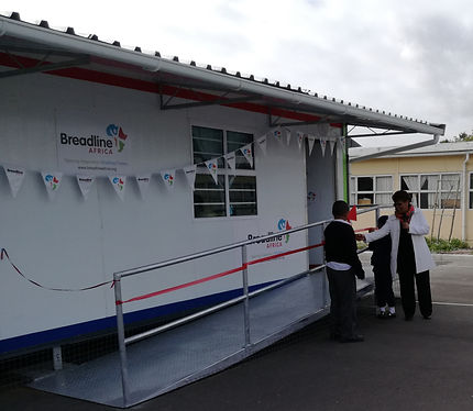 Breadline Donate Classroom to St Joseph's RC Primary