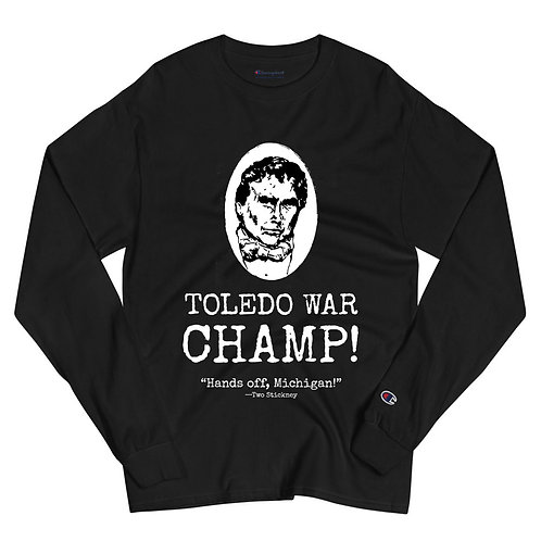Two Stickney Men's Champion Long Sleeve Shirt