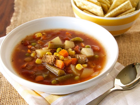 Rose Ann's Beef Vegetable Soup