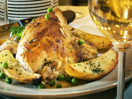 Chicken Vesuvio