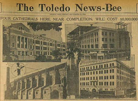 Toledo's Four Cathedrals in 1928