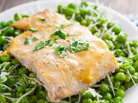 Tom's Mustard-Glazed Salmon