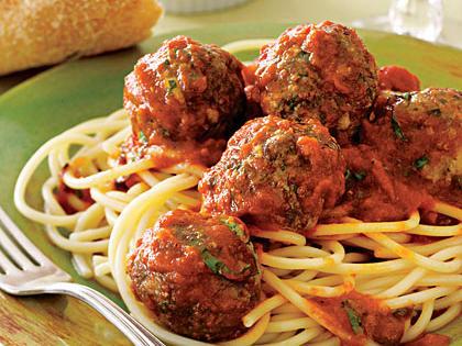 Todd's Spaghetti and Meatballs