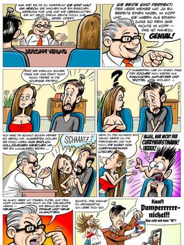 Neuer Comic-Strip: Wie der Weiner zum Pumpernickel kam ...