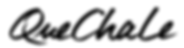Logo schwarz QueChaLe.png