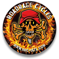 ROADRAGE CYCLES AUFKLEBER KREISSCHRIFT K