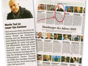 """WAZ: """"Duisburger des Jahres"""" (2013)"""