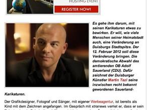 """ExtraNews: """"Bildlich gesprochen: Martin Tazl"""" (2011)"""
