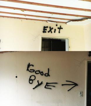 Der Weisse Riese sagt Good-Bye ...