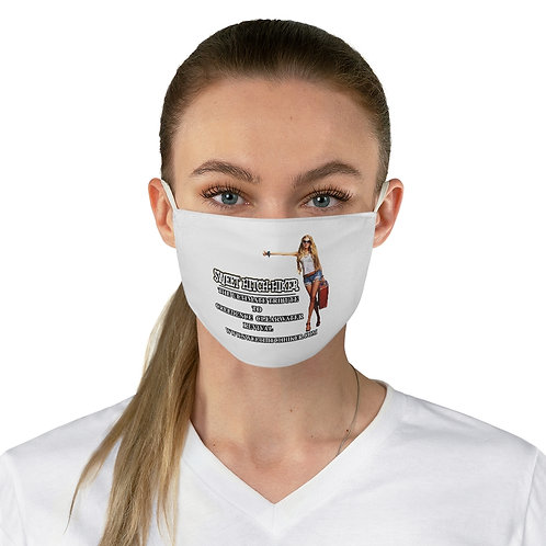 Sweet Hitch-Hiker Fabric Face Mask